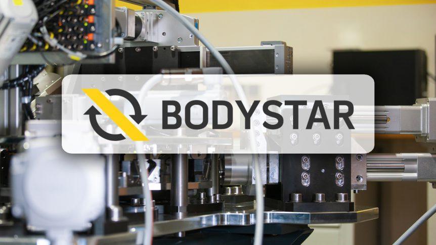 Pfening GmbH aus Kirchberg zeigt Bodystar zur Produktion von Kaugummidosen.